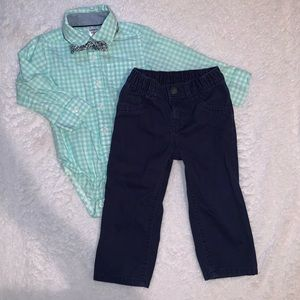 3 piece carters outfit